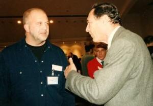 Firenca 2003 - Nikola Duper i John Mack - sreli smo se i iduće godine u Engleskoj, par dana prije tragične pogibije
